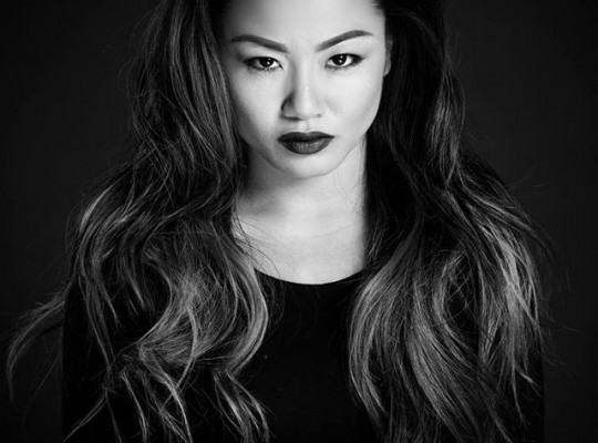 Black and White Studio Session with Bee Nguyen